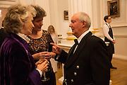 JOYCE MACKIE; KATE MAVOR; SIR KENNETH CALMAN, The National Trust for Scotland Mansion House Dinner. Mansion House, London. 16 October 2013