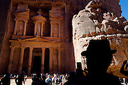 Jordan, Petra archaeological site, listed as World Heritage by UNESCO