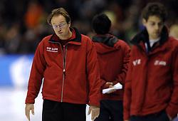 23-12-2006 SCHAATSEN: AEGON NK ALLROUND 2007: HEERENVEEN <br /> Coach Jac Orie<br /> ©2006-WWW.FOTOHOOGENDOORN.NL