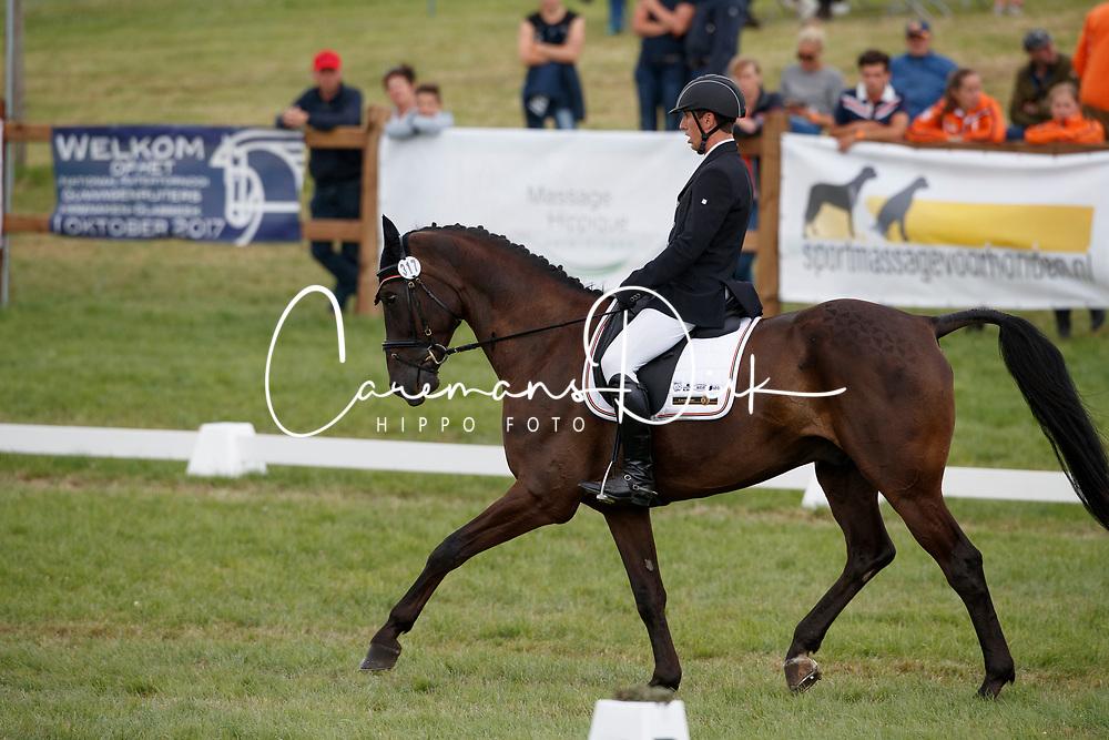 Steegmans Raf, BEL, Vencor van de Kiezelhoeve<br /> European Championship Eventing Landelijke Ruiters - Tongeren 2017<br /> © Hippo Foto - Dirk Caremans<br /> 28/07/2017
