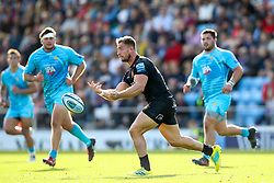 Sam Hill of Exeter Chiefs - Mandatory by-line: Robbie Stephenson/JMP - 29/09/2018 - RUGBY - Sandy Park Stadium - Exeter, England - Exeter Chiefs v Worcester Warriors - Gallagher Premiership Rugby