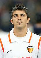 Fussball Champions League Saison 2007/2008 David VILLA (Valencia)