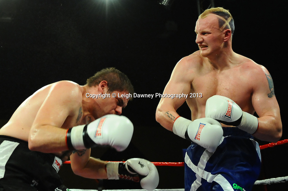 Gary Cornish defeats Jakov Gospic in a 8x3 contest at Rainton Meadows Arena, Houghton Le Spring, Tyne & Wear, UK. 15th February 2013. Frank Maloney Promotions. © Leigh Dawney 2013