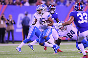 EAST RUTHERFORD, NJ - SEPTEMBER 18:  Detroit Lions wide receiver Golden Tate (15) during the National Football League game between the New York Giants and the Detroit Lions on September 18, 2017, at MetLife Stadium in East Rutherford, NJ. (Photo by Rich Graessle/Icon Sportswire)
