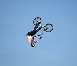 Nitro Circus Live, Livingston, Saturday 4th June 2016<br /> <br /> Tricks were performed by cyclists<br /> <br /> (c) Alex Todd | Edinburgh Elite media