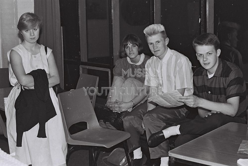 Essex University students on campus, Essex, UK, 1983
