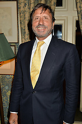 SIR ROCCO FORTE at a party to celebrate the publication of Right or Wrong: The Memoirs of Lord Bell held at Mark's Club, Charles Street, London on 16th October 2014.