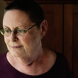 Portrait of Peggy Bowman at her house in Wichita, KS. 2009, June 20th. Photo: Antoine Doyen