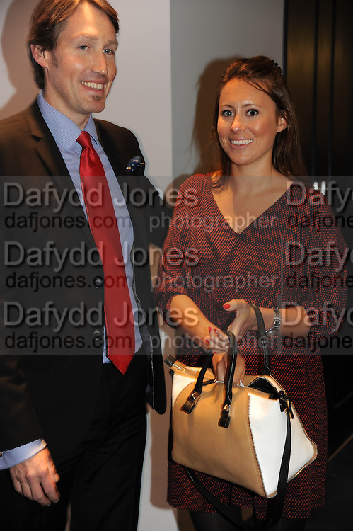EDWARD BODENHAM; POLLY GREDLEY, The Gentlemen's Journal Autumn Party, in partnership with Gieves and Hawkes- No. 1 Savile Row London. 3 October 2013
