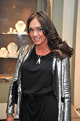 TAMARA ECCLESTONE at a party to launch the Georgina Chapman collection for Garrard held at Garrard, Albermarle Street, London on 4th November 2009.