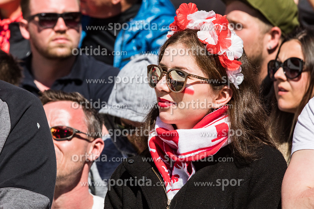 Poland Fans during the 2nd round of the Ski Flying Hill Individual Competition at Day 4 of FIS Ski Jumping World Cup Final 2019, on March 24, 2019 in Planica, Slovenia. Photo Peter Podobnik / Sportida