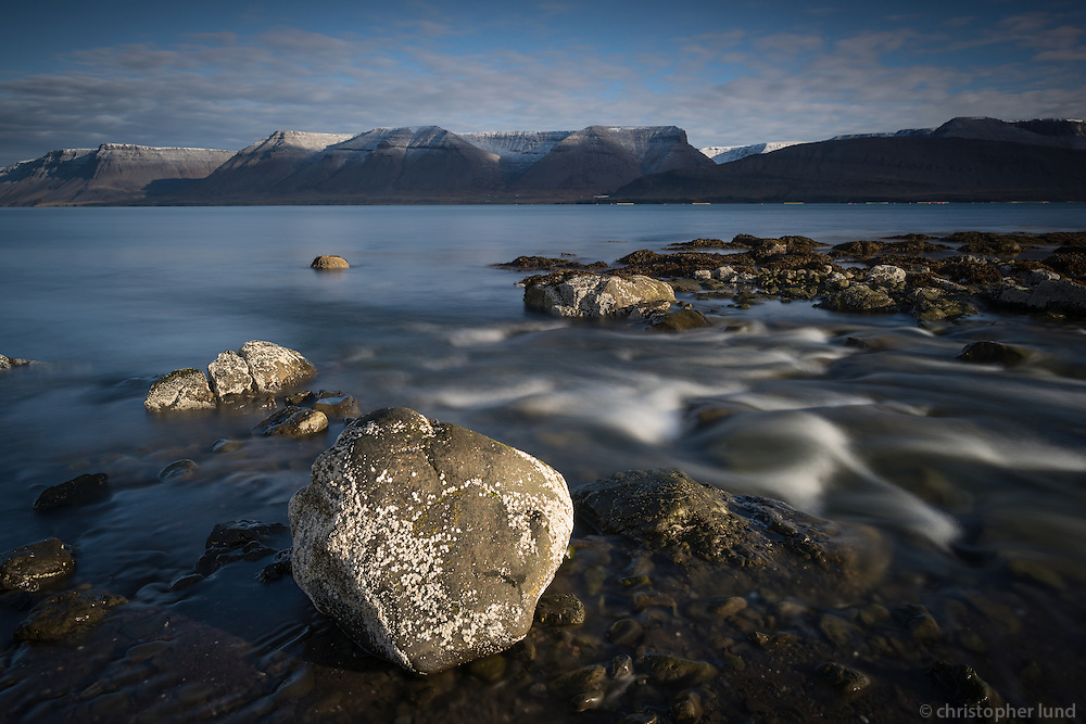 Dýrafjörður early morning. West fiords of Iceland.
