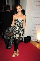 LAURA BAILEY at Vogue's Fantastic Fashion Fantasy Party in association with Van Cleef & Arpels to celebrate Vogue's Secret Address Book held at One Marylebone Road, London NW1 on 3rd November 2008.