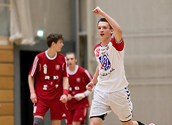 04.11.2016, SPORT. ZENTRUM Niederösterreich, St. Pölten, AUT, Invitational, Slowakei vs Serbien, im Bild Nikola Zakula (SRB)// during the Invitational match between Slovakia and Serbia at the SPORT. ZENTRUM Niederösterreich, St. Pölten, Austria on 2016/11/04, EXPA Pictures © 2016, PhotoCredit: EXPA/ Sebastian Pucher