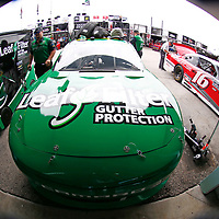 The NASCAR Xfinity Series teams take to the track to practice for the Ford 300 at Homestead-Miami Speedway in Homestead, Florida.