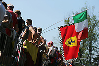 Fans.<br /> Italian Grand Prix, Saturday 6th September 2014. Monza Italy.