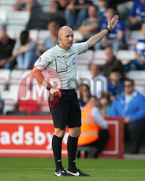 Referee, Andy Davies - Mandatory by-line: Paul Terry/JMP - 07966386802 - 31/07/2015 - SPORT - FOOTBALL - Bournemouth,England - Dean Court - AFC Bournemouth v Cardiff City - Pre-Season Friendly