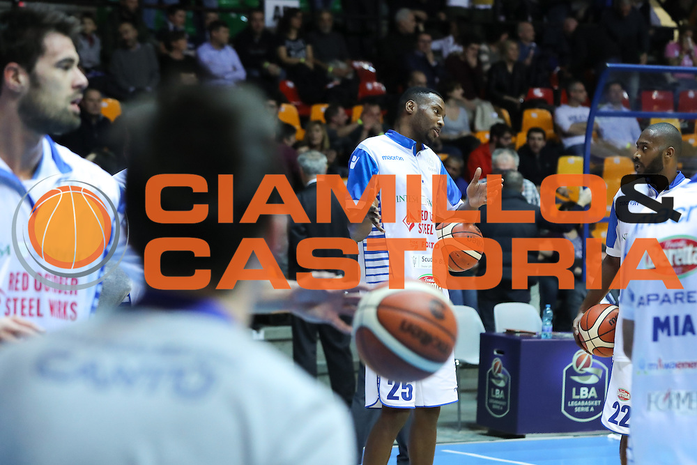 Johnson JaJuan, Red October Cantù vs Vanoli Cremona LBA serie A 13^ giornata stagione 2016/2017 PalaDesio 27/12/2016