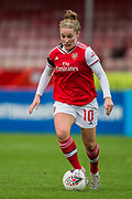 Kim Little (Arsenal) during the Brighton and Hove Albion Women vs Arsenal Women, FA WSL Cup at The People's Pension Stadium, Crawley, England on 3 November 2019.