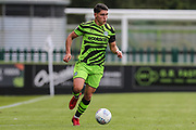 Forest Green Rovers Jack Aitchison(29), on loan from Celtic runs forward during the EFL Sky Bet League 2 match between Forest Green Rovers and Crawley Town at the New Lawn, Forest Green, United Kingdom on 5 October 2019.