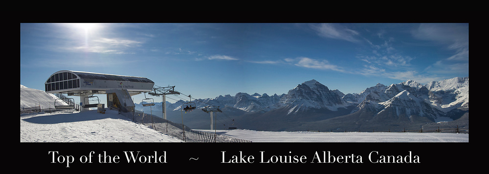 Banff ski trip. Skiing Lake Louise.   ©2019 Karen Bobotas Photographer