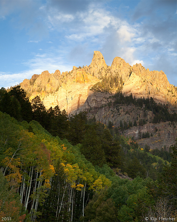 Telluride Tomorrow. San Juan National Forest, Colorado - 9/29/2011.