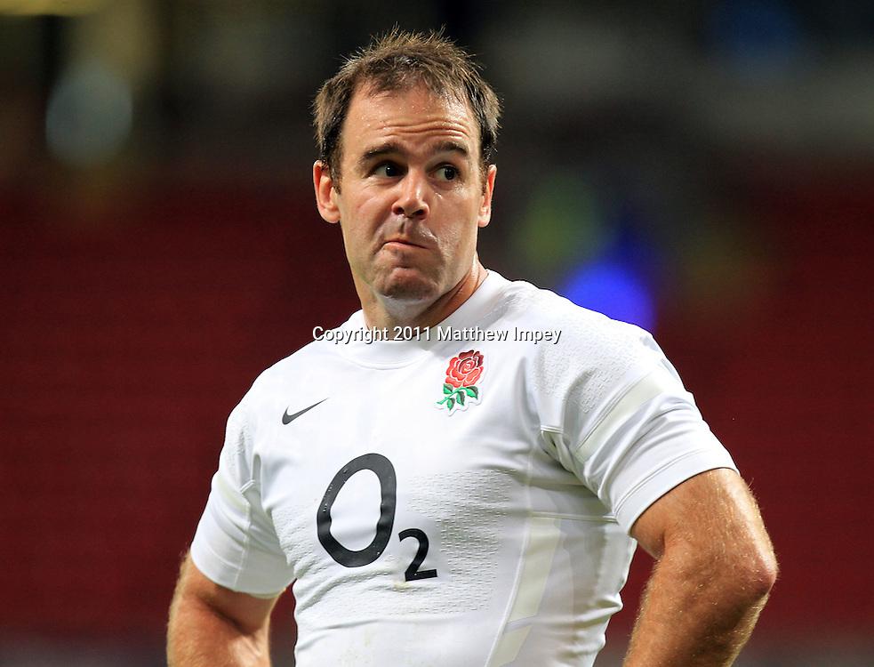Charlie Hodgson of England. Wales v England, Millennium Stadium, Cardiff, Rugby Union, 12/08/2011 © Matthew Impey/Wiredphotos.co.uk. tel: 07789 130 347 email: matt@wiredphotos.co.uk