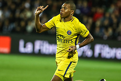 September 8, 2017 - Paris, France - Kylian Mbappe of PSG celebrates his goal during the French Ligue 1 match between FC Metz and Paris Saint Germain (PSG) at Stade Saint-Symphorien on September 9, 2017 in Metz, France. (Credit Image: © Elyxandro Cegarra/NurPhoto via ZUMA Press)