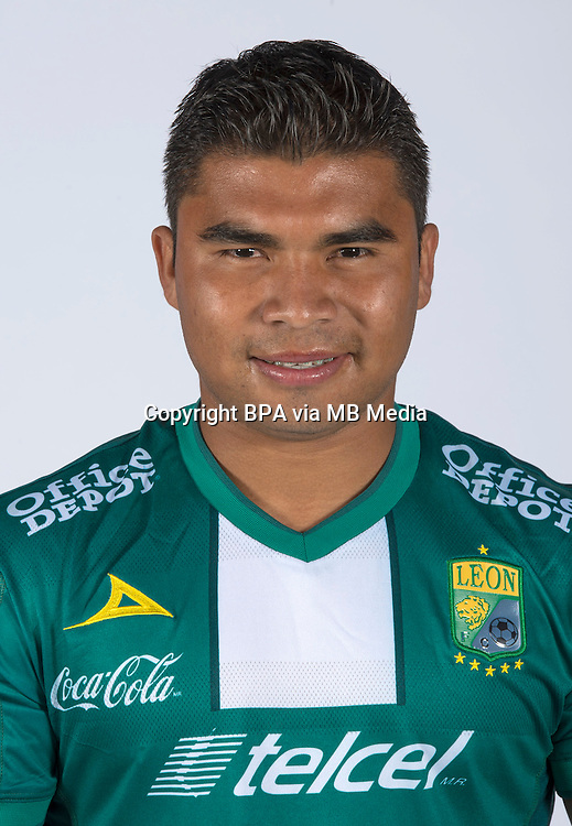 Mexico League 2013-2014 - First Division / <br /> Club Leon F.C / Mexico - <br /> ONAY PINEDA