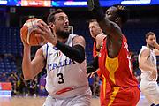 Marco Belinelli<br /> Nazionale Italiana Maschile Senior<br /> Eurobasket 2017 - Group Phase<br /> Italy Italia Germany Germania<br /> FIP 2017<br /> Tel Aviv, 05/09/2017<br /> Foto Ciamillo - Castoria/ Ivan Mancini