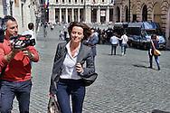 Roma 29 Aprile 2013.Il ministro della Salute Beatrice Lorezin entra alla Camera dei Deputati dove si voto la fiducia al Governo Letta