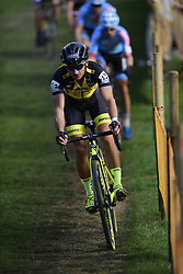 October 20, 2018 - Boom, France - BERTOLINI Gioele (ITA) of SELLA ITALIA - GUERCIOTTI - ELITE in action during the 2nd leg of the men elite and U23 Telenet Superprestige cyclocross race (Credit Image: © Panoramic via ZUMA Press)