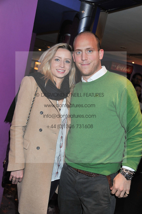 SOPHIA WINNINGTON and CARLO CARELLO at a private screening of the film The Iron Lady hosted by nightclub Maggie's held at Cineworld, King's Road, London on 19th January 2012.