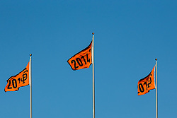 World Series Flags, AT&T Park, 2015.