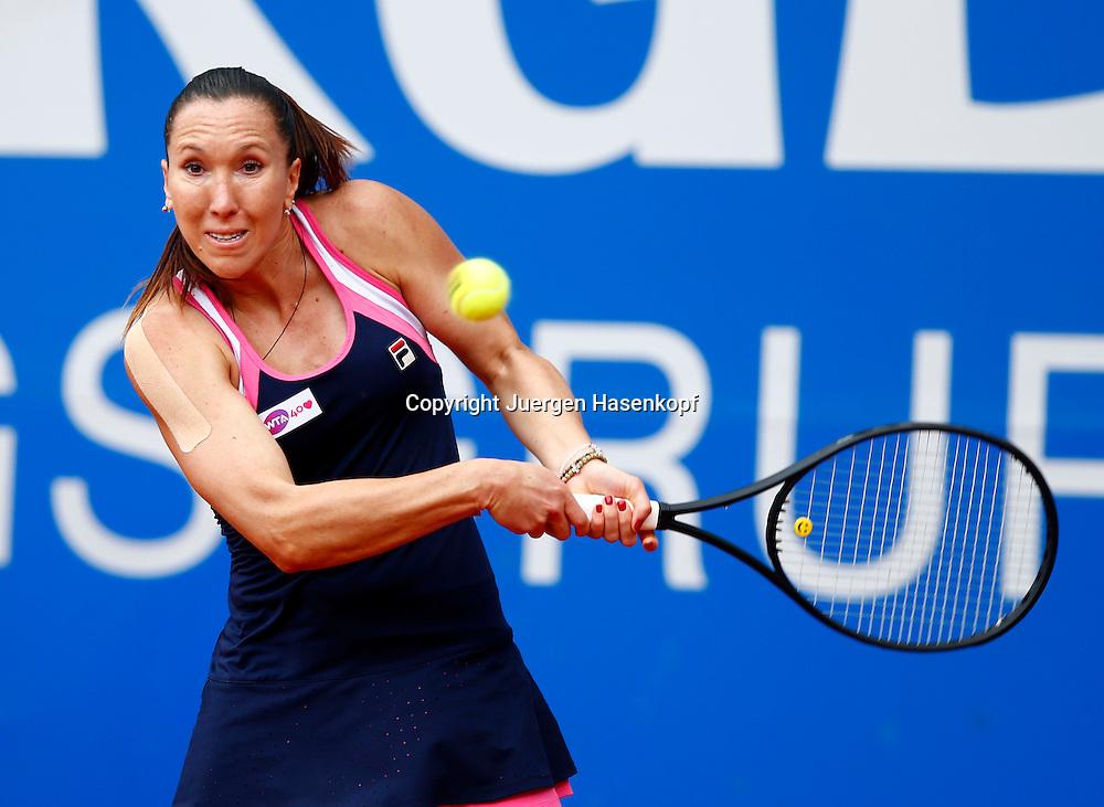 Nuernberger Versicherungscup 2013,WTA Tennis Tournament, Jelena Jankovic (SRB),Aktion,<br /> Einzelbild,Halbkoerper,Querformat,