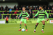 Forest Green Rovers Elliott Frear(11) on the ball during the Vanarama National League match between Forest Green Rovers and Aldershot Town at the New Lawn, Forest Green, United Kingdom on 5 November 2016. Photo by Shane Healey.