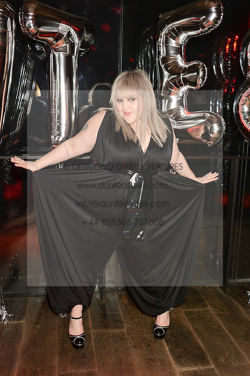 BETH DITTO at a party to celebrate the launch of the Beth Ditto Clothing Line held at The London Edition, Berners Street, London on 18th February 2016.