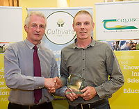Repro Free:  Best Student Farm Performance and Measurement Michael Lynch and Teagasc Green Cert Graduate  at the Raheen Woods Hotel with Mick Culkeen SJ Credit Union Tuam    Photo:Andrew Downes, xposure