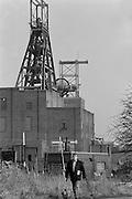 Barnburgh Colliery, British Coal, South Yorkshire Area . 09-02-1989.