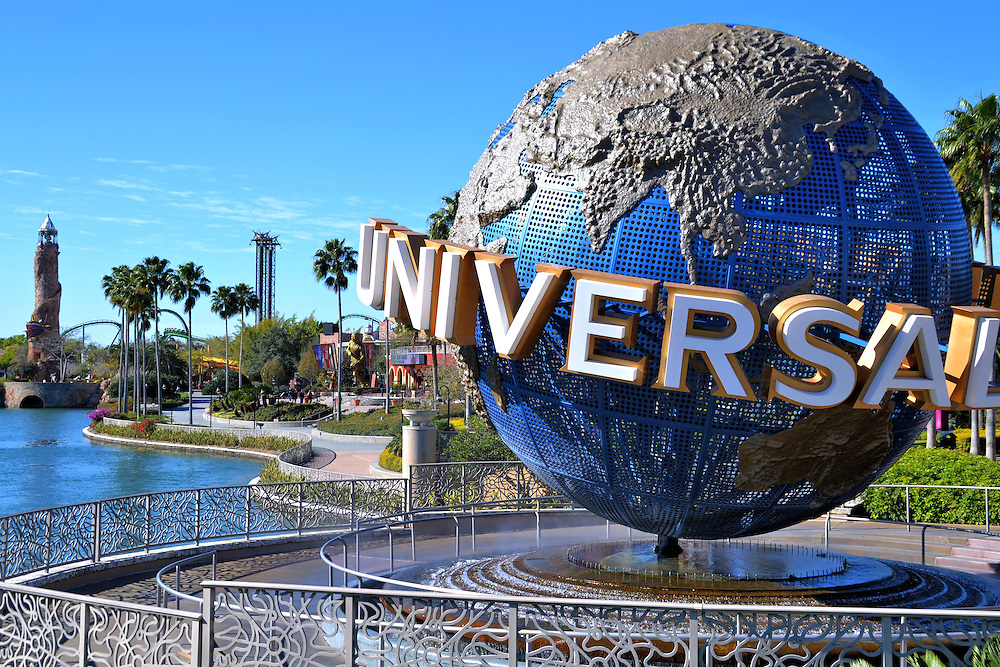 Two Parks at Universal Orlando Resort in Orlando, Florida <br />