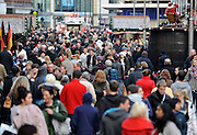 © under license to London News Pictures.12/12/2010. Christmas shoppers in Liverpool, Merseyside today (Sun). With only one full shopping weekend before Christmas, 1000's of shoppers across the country take advantage of the warmer weekend weather. Photo credit should read: Stephen Simpson/LNP