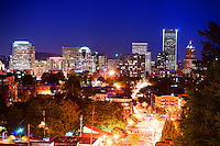 Portland Skyline @ Twilight