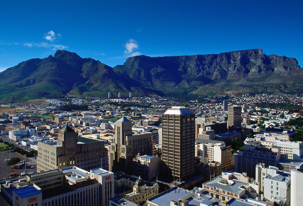 Cape Town and Table Mountain, South Africa. RESERVED USE - NOT FOR DOWNLOAD -  FOR USE CONTACT TIM GRAHAM
