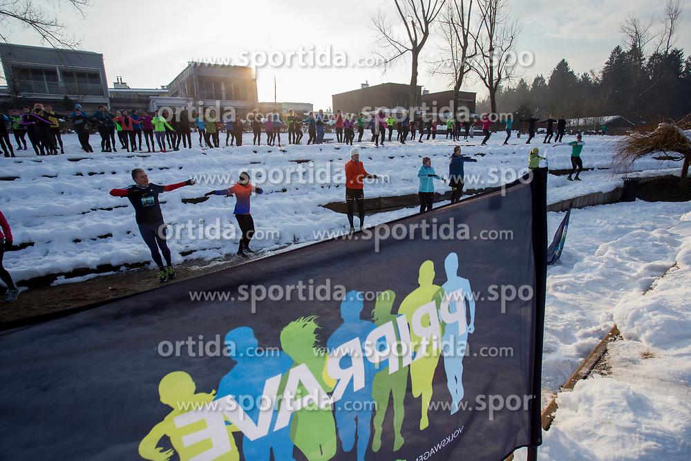 3. skupinski tek priprav na Ljubljanski maraton, 17. Februar 2018, Koseski bajer. Foto by Urban Urbanc / Sportida