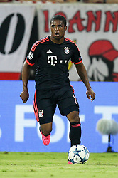 16.09.2015, Karaiskakis Stadium, Piräus, GRE, UEFA CL, Olympiakos Piräus vs FC Bayern München, Gruppe F, im Bild Douglas Costa #11 (FC Bayern Muenchen) // during UEFA Champions League group F match between Olympiacos F.C. and FC Bayern Munich at the Karaiskakis Stadium in Piräus, Greece on 2015/09/16. EXPA Pictures © 2015, PhotoCredit: EXPA/ Eibner-Pressefoto/ Kolbert<br /> <br /> *****ATTENTION - OUT of GER*****