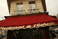 "L'Entrecote ""Relais de Venise"" at Porte Maillot, Paris........Photo by Owen Franken"