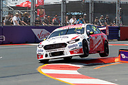 Will Davison in the Milwaukee Racing Ford Falcon during Friday practice at The 2018 Vodafone Supercar Gold Coast 600 in Queensland.