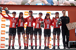 Team Sunweb win the team prize after Stage 4 of 2020 Santos Women's Tour Down Under, a 42.5 km road race in Adelaide, Australia on January 19, 2020. Photo by Sean Robinson/velofocus.com