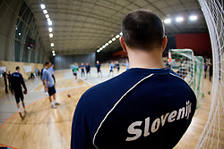 Gorazd Skof at Open training session for the public of Slovenian handball National Men team before European Championships Austria 2010, on December 27, 2009, in Terme Olimia, Podcetrtek, Slovenia.  (Photo by Vid Ponikvar / Sportida)