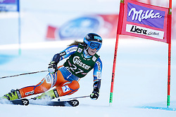 28.12.2013, Hochstein, Lienz, AUT, FIS Weltcup Ski Alpin, Damen, Riesenslalom 2. Durchgang, im Bild Nina Loeseth (NOR) // Nina Loeseth of (NOR) during ladies Giant Slalom 2 nd run of FIS Ski Alpine Worldcup at Hochstein in Lienz, Austria on 2013/12/28. EXPA Pictures © 2013, PhotoCredit: EXPA/ Oskar Höher